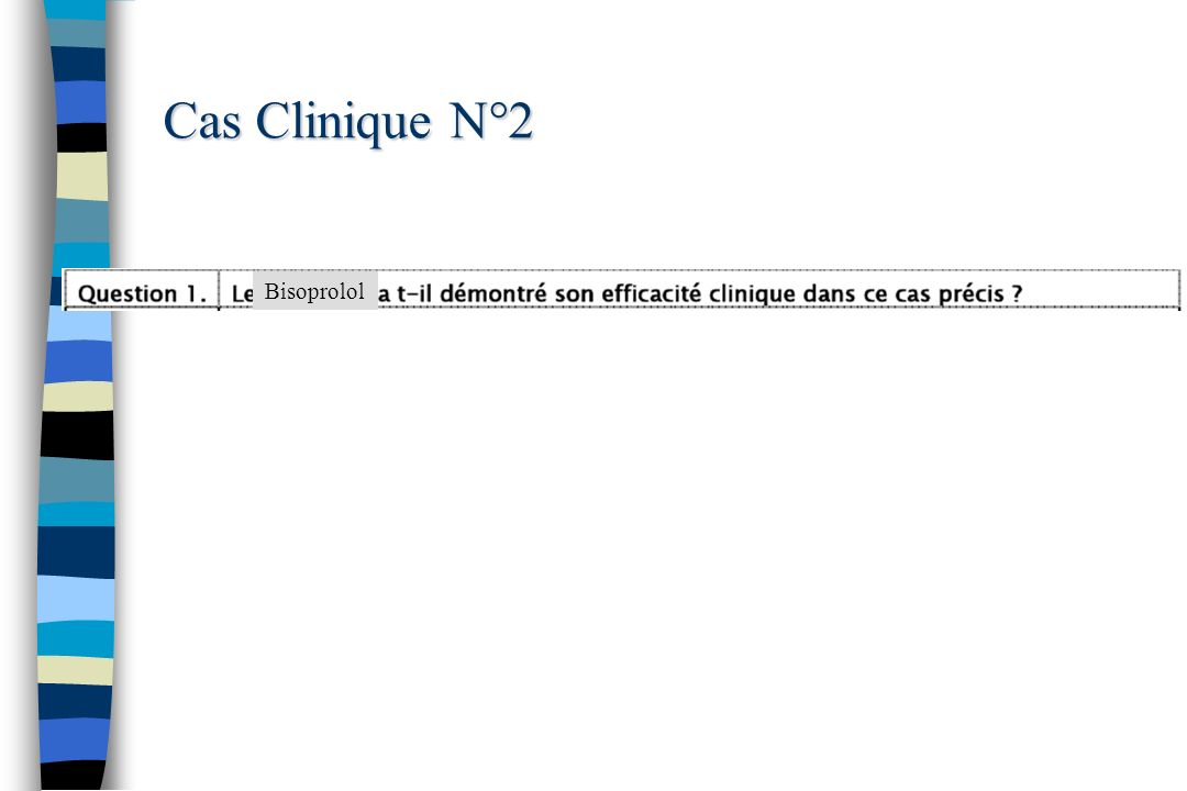 Cas Clinique N°2 Bisoprolol 58