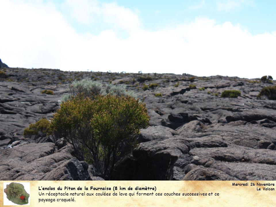  L'enclos du Piton de la Fournaise (8 km de diamètre)
