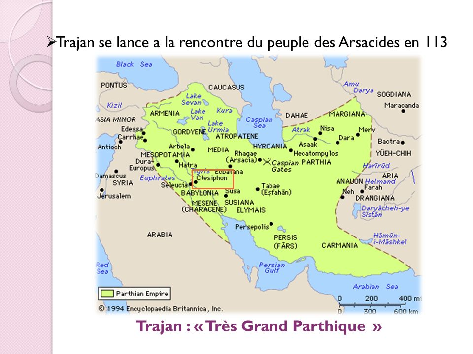 Trajan : « Très Grand Parthique »