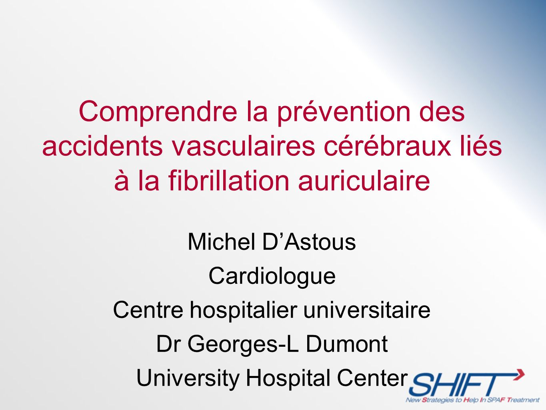 Comprendre la prévention des accidents vasculaires cérébraux liés à la fibrillation auriculaire
