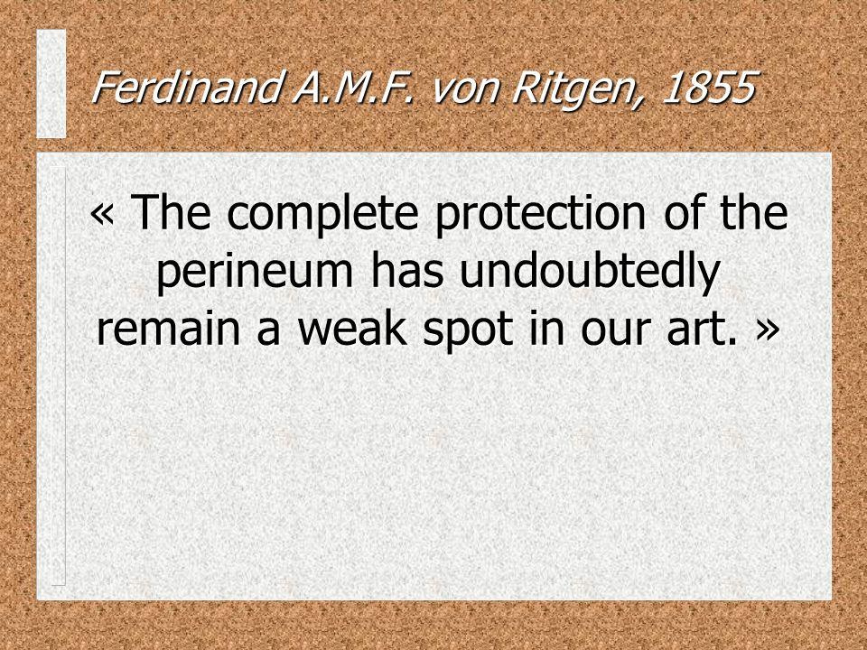 Ferdinand A.M.F. von Ritgen, 1855