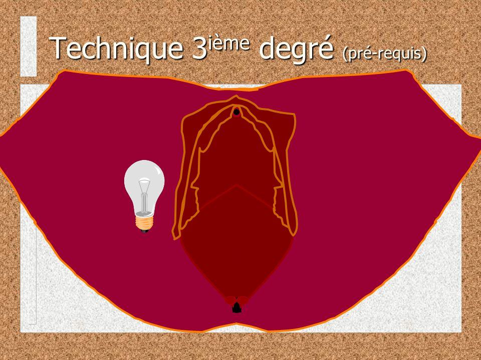 Technique 3ième degré (pré-requis)