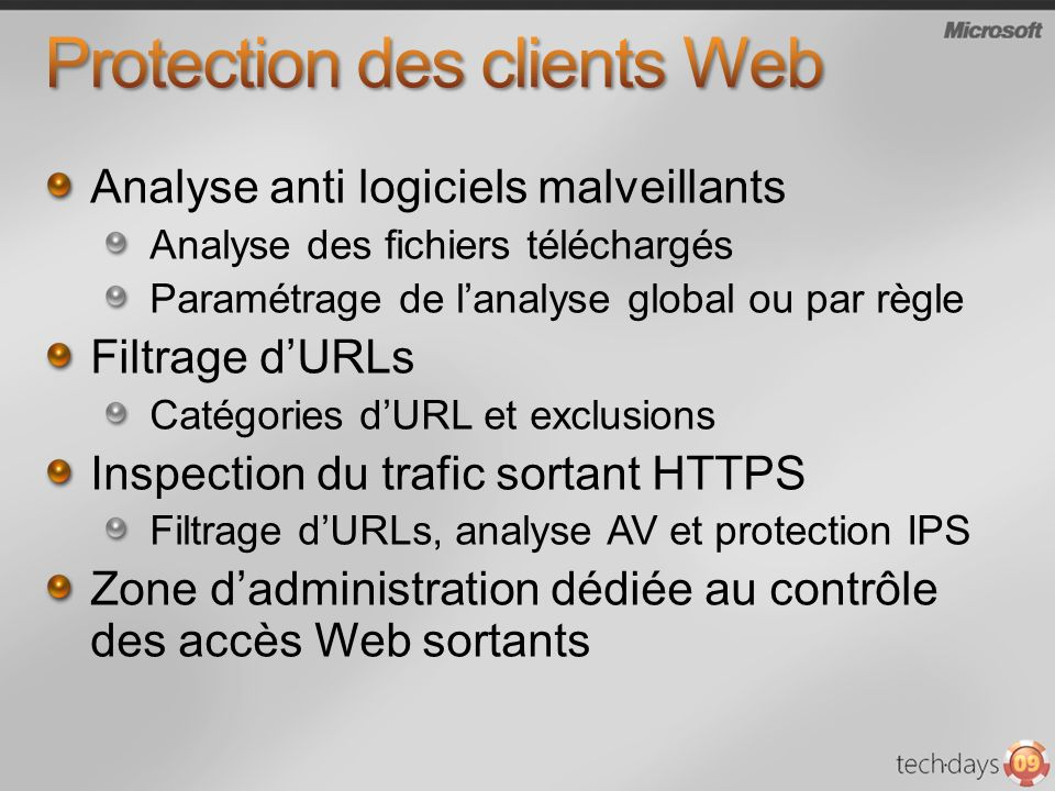 Protection des clients Web