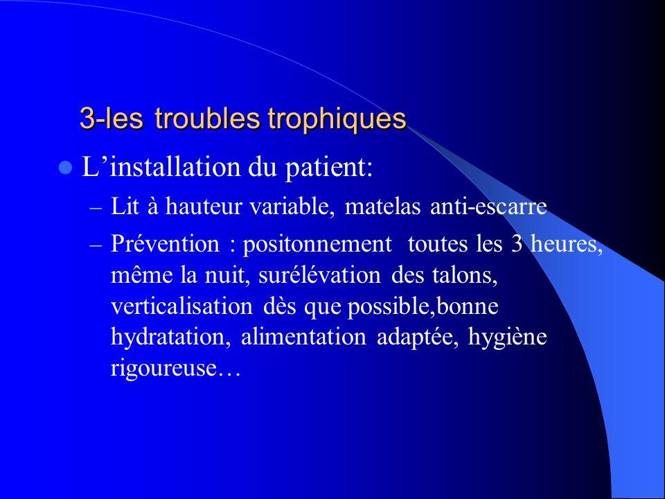 3-les troubles trophiques
