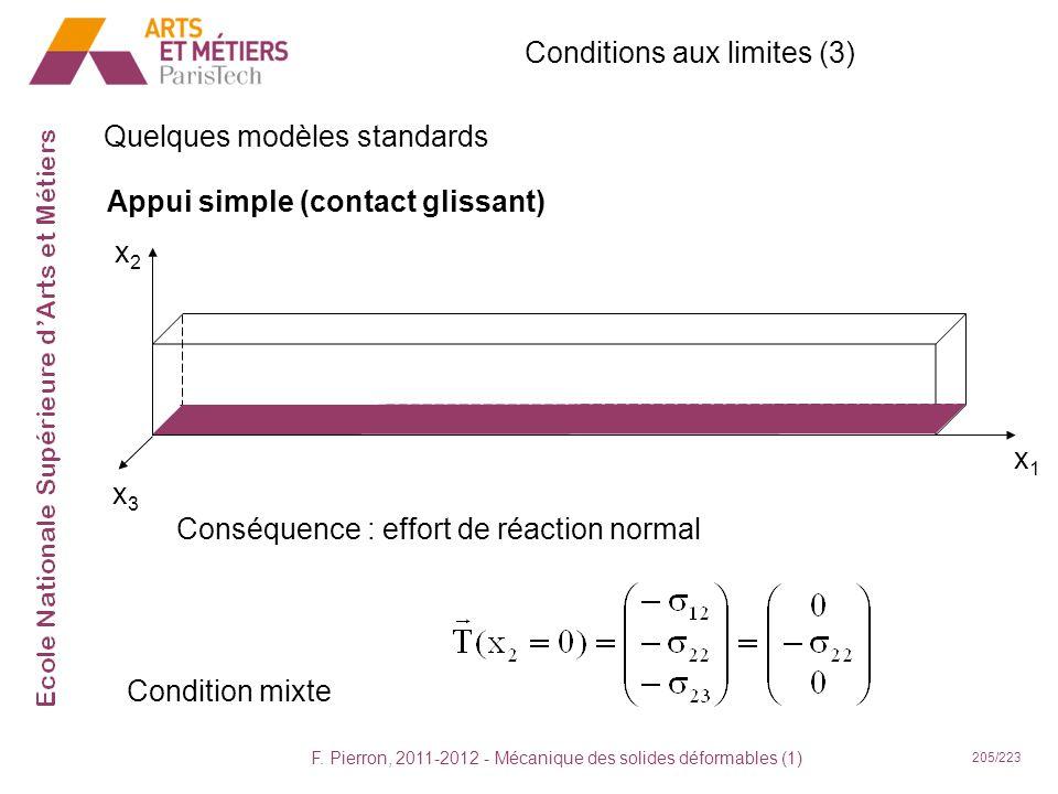 Conditions aux limites (3)