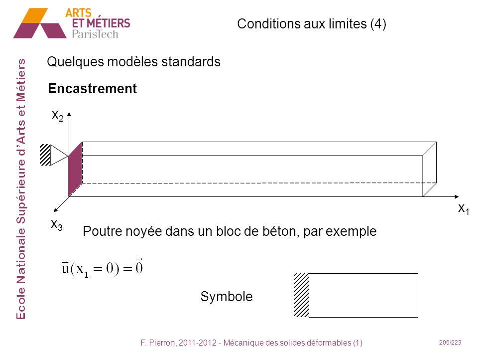 Conditions aux limites (4)
