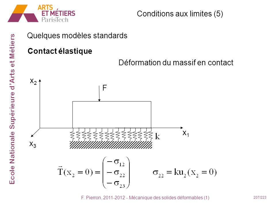 Conditions aux limites (5)