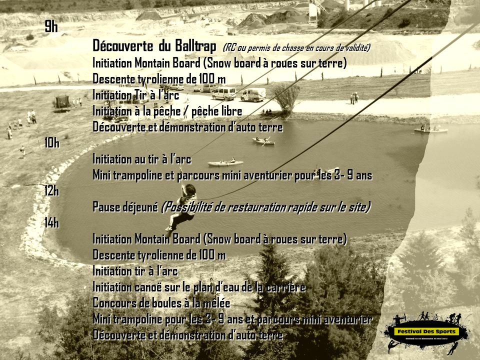 Découverte du Balltrap (RC ou permis de chasse en cours de validité)
