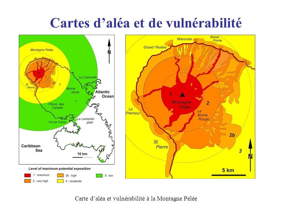 Cartes d'aléa et de vulnérabilité