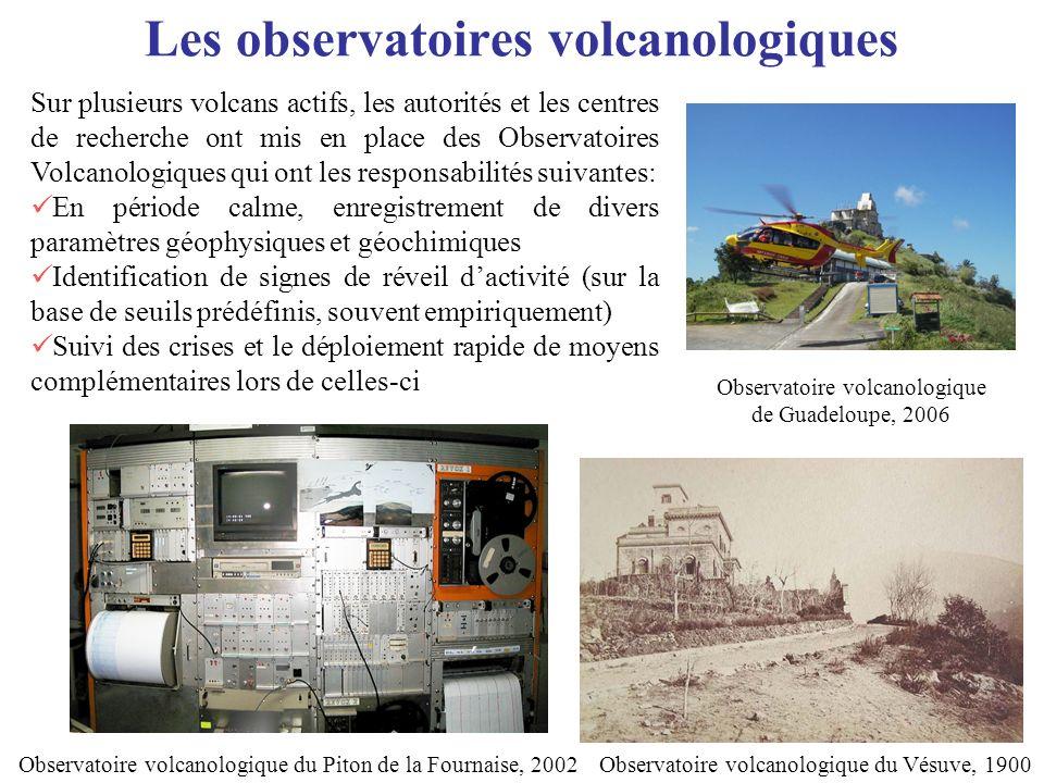 Les observatoires volcanologiques