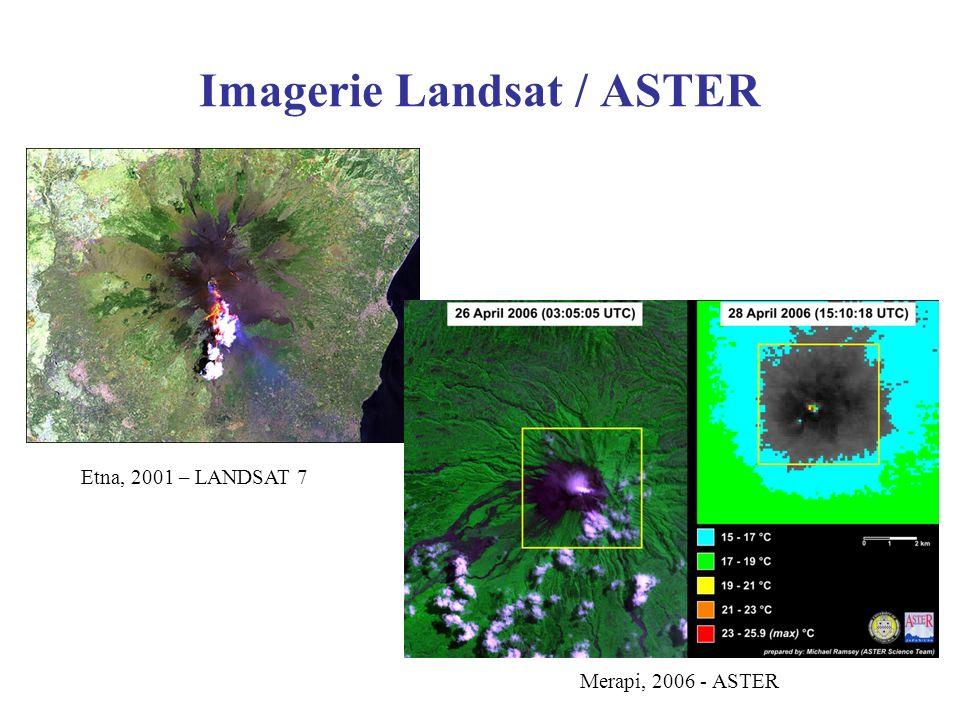 Imagerie Landsat / ASTER