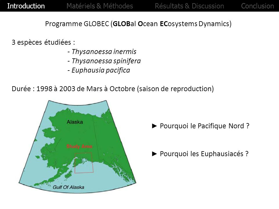 Programme GLOBEC (GLOBal Ocean ECosystems Dynamics)
