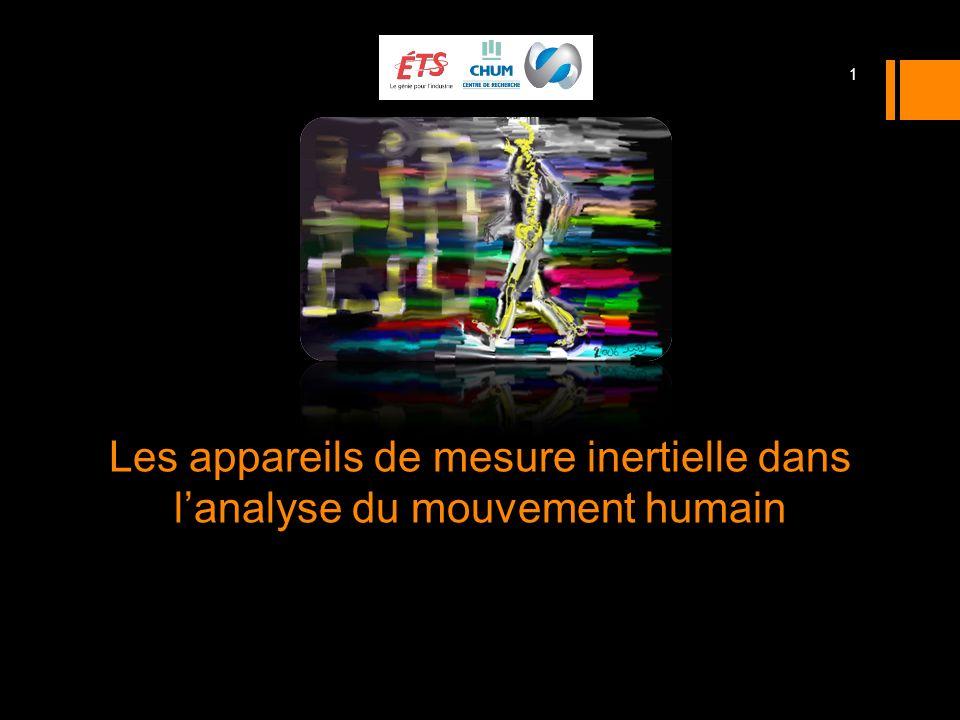 Les appareils de mesure inertielle dans l'analyse du mouvement humain