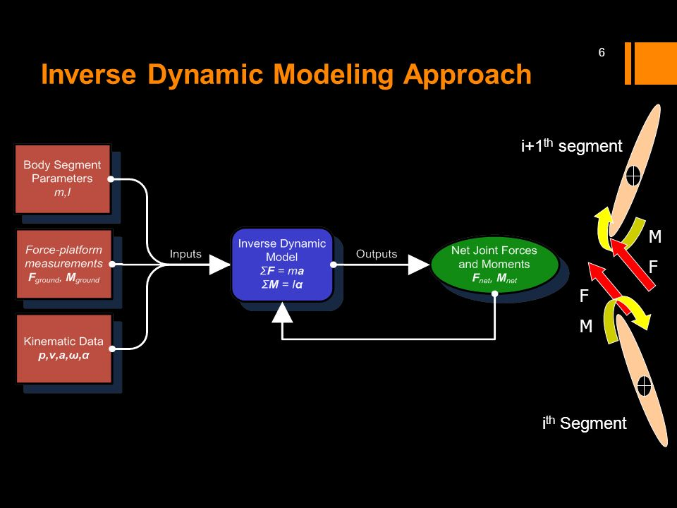 Inverse Dynamic Modeling Approach