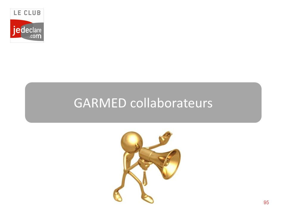 GARMED collaborateurs