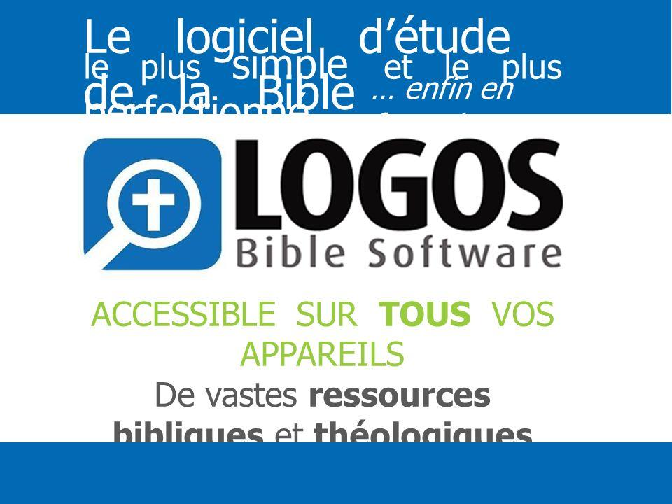 Le logiciel d'étude de la Bible