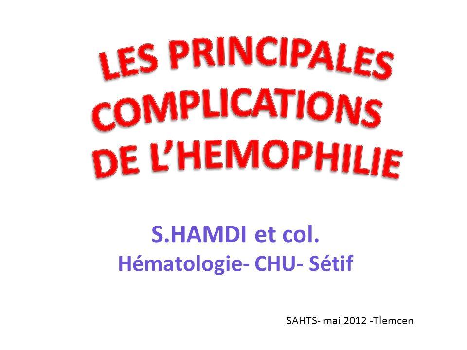 Hématologie- CHU- Sétif