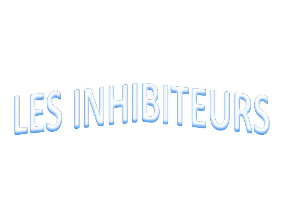 LES INHIBITEURS