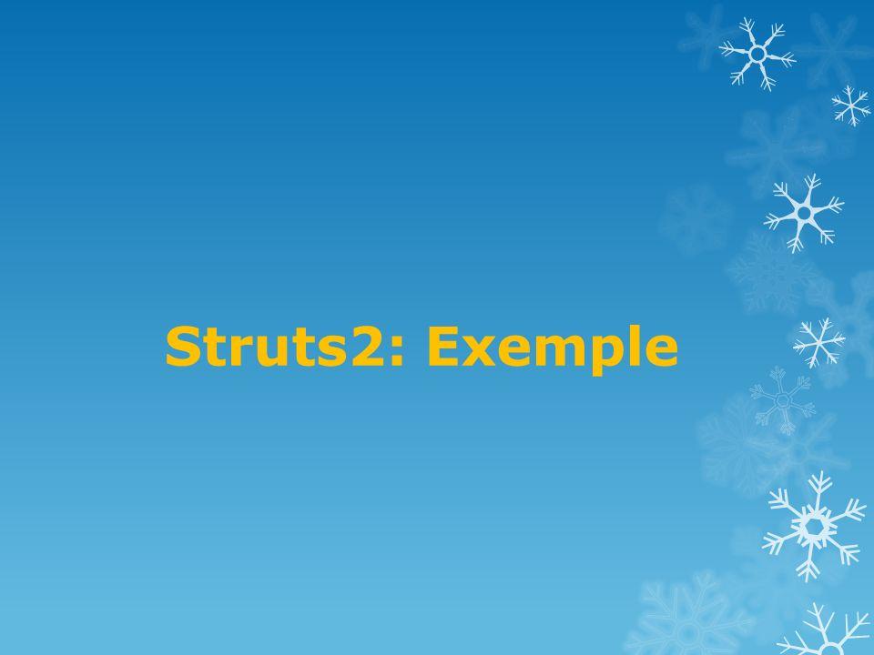 Struts2: Exemple