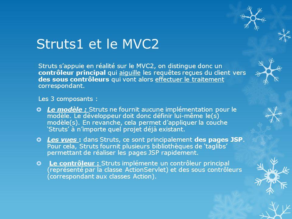 Struts1 et le MVC2