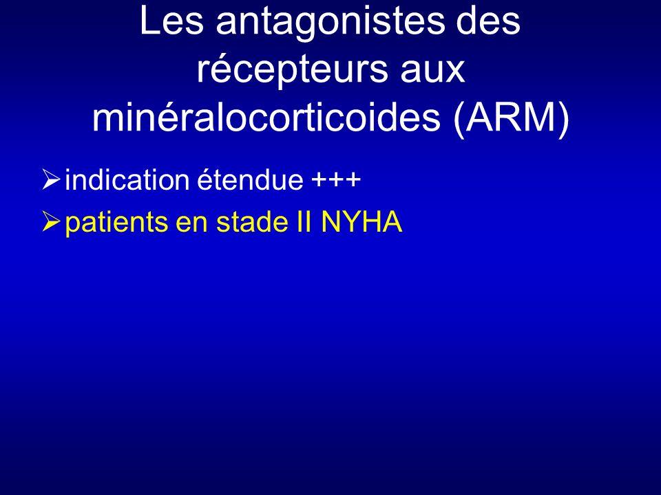 Les antagonistes des récepteurs aux minéralocorticoides (ARM)