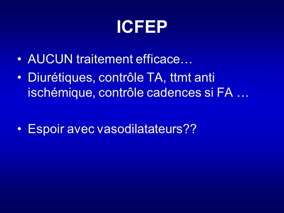 ICFEP AUCUN traitement efficace…