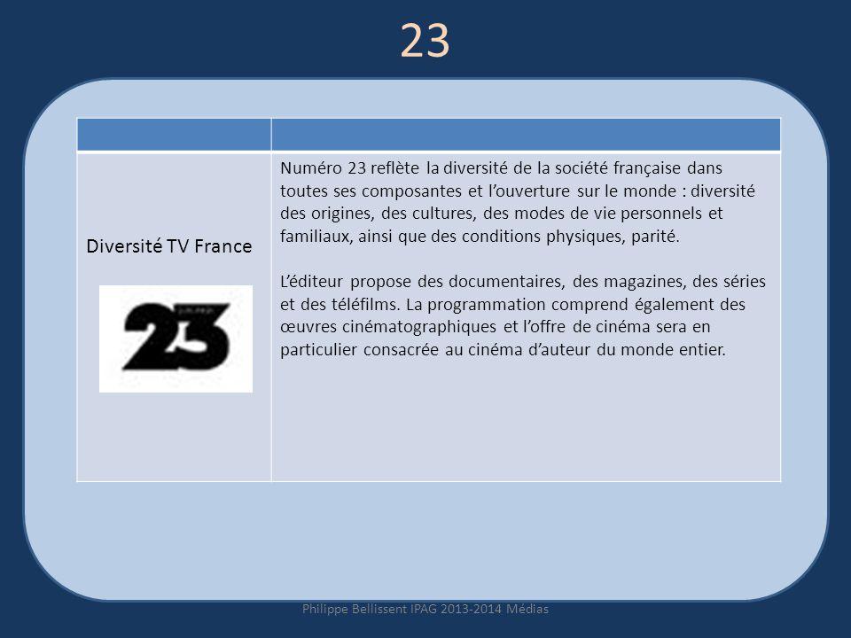 Philippe Bellissent IPAG 2013-2014 Médias