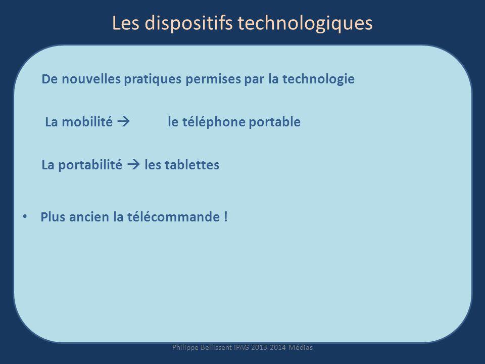 Les dispositifs technologiques