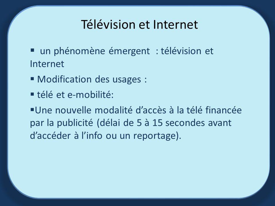 Télévision et Internet