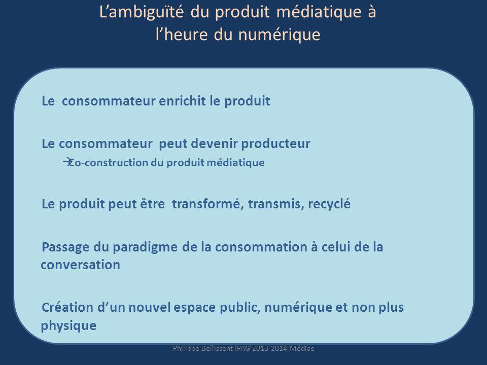 L'ambiguïté du produit médiatique à l'heure du numérique
