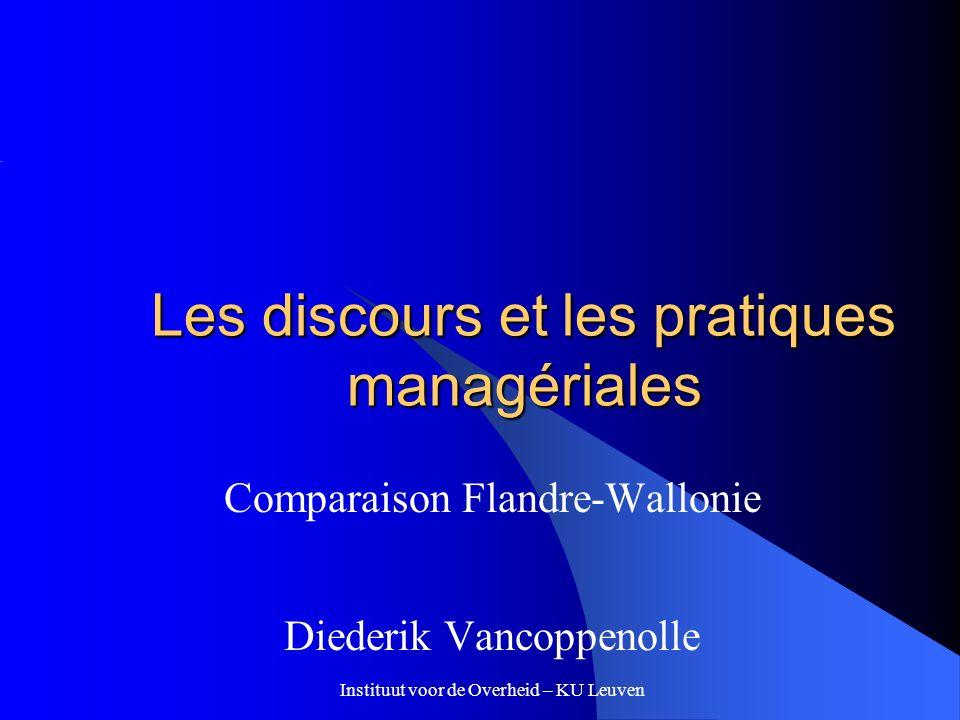 Les discours et les pratiques managériales