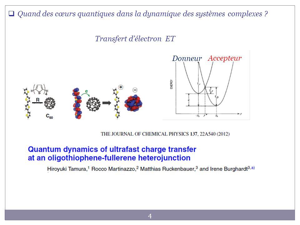 Transfert d'électron ET