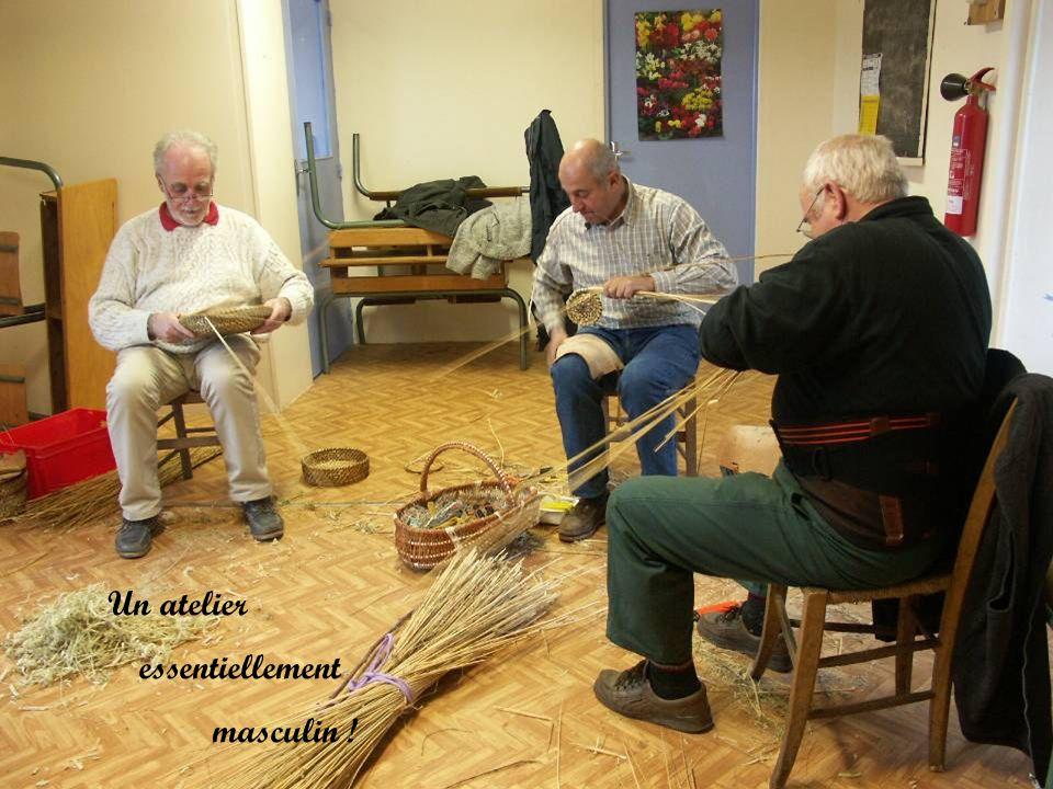 Un atelier essentiellement masculin !