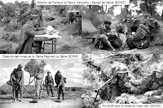 Détection des mines par le 19ème Régiment du Génie (ECPAD)