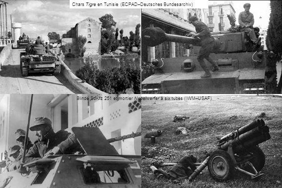 Chars Tigre en Tunisie (ECPAD–Deutsches Bundesarchiv)