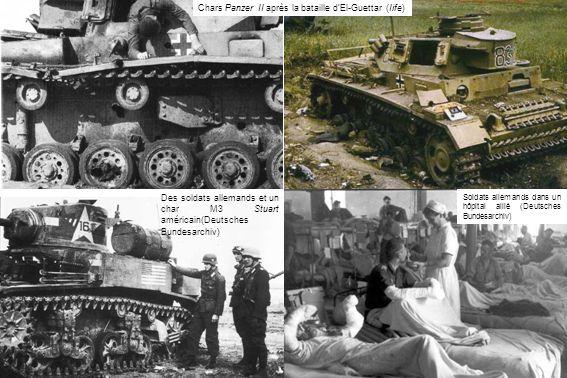 Chars Panzer II après la bataille d'El-Guettar (Iife)