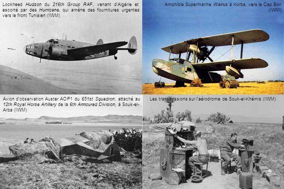 Les transmissions sur l'aérodrome de Souk-el-Khémis (IWM)