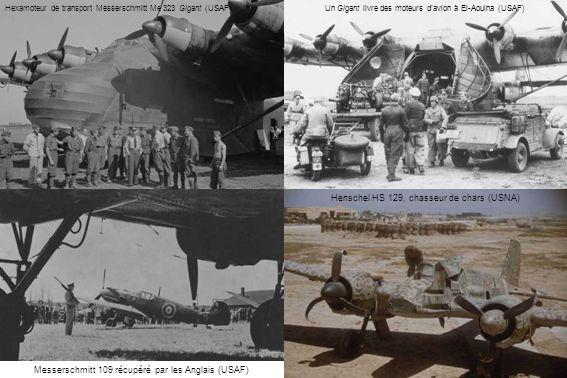 Henschel HS 129, chasseur de chars (USNA)