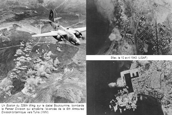 Sfax, le 10 avril 1943 (USAF)