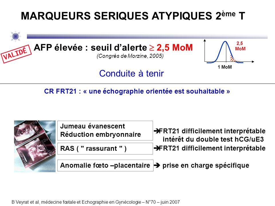 MARQUEURS SERIQUES ATYPIQUES 2ème T