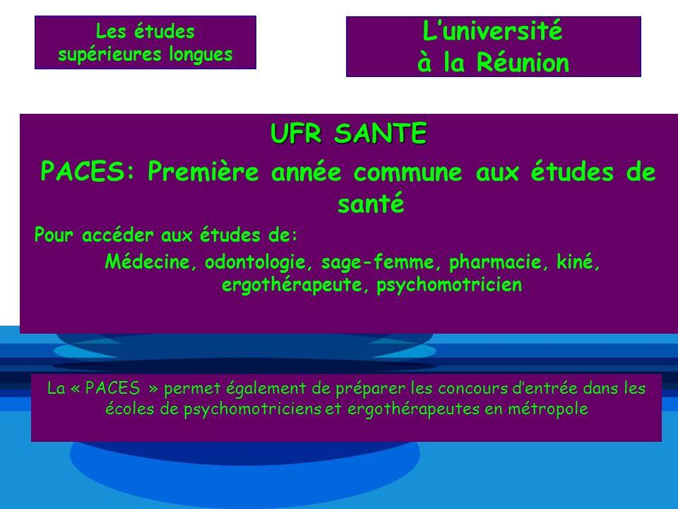 L'université à la Réunion