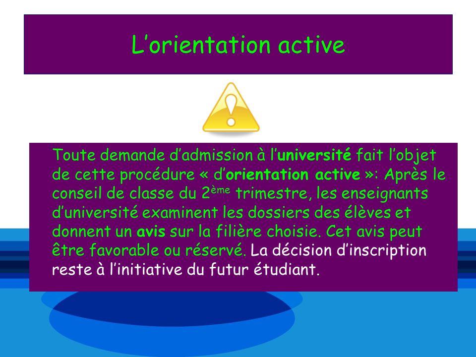 L'orientation active