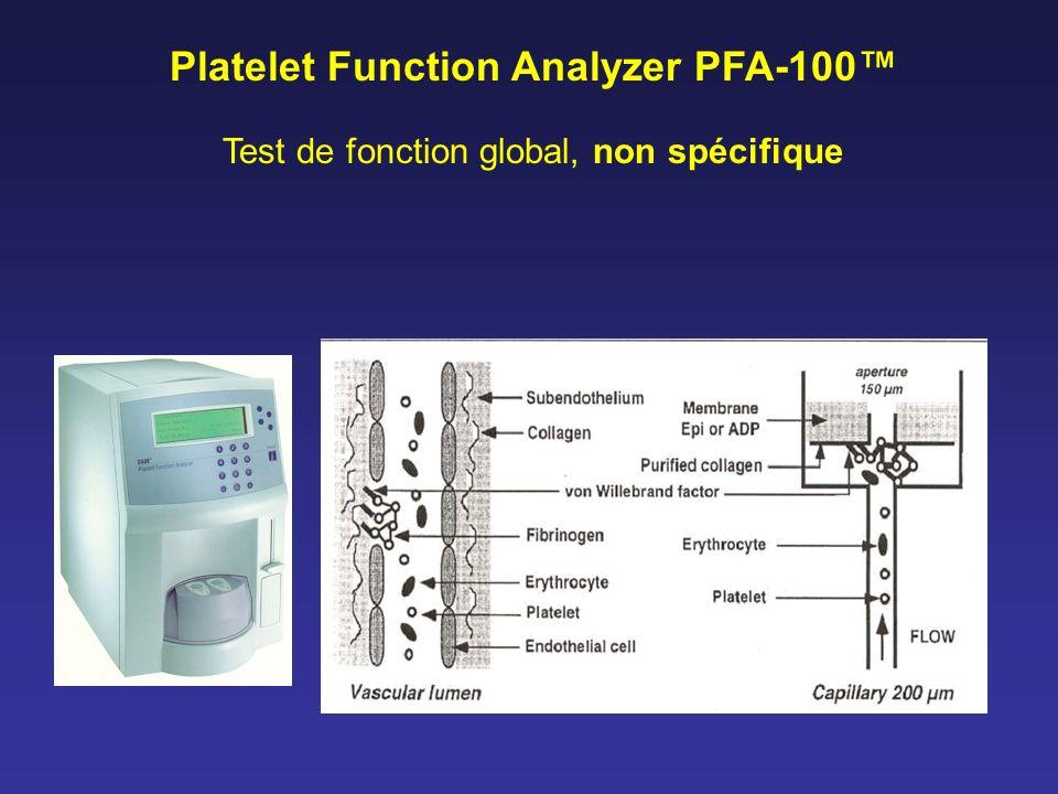 Platelet Function Analyzer PFA-100™
