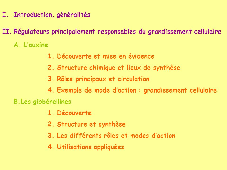 Introduction, généralités