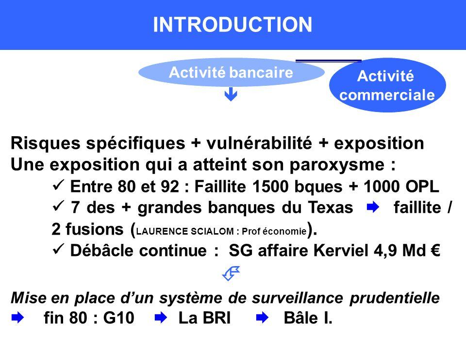 INTRODUCTION  Risques spécifiques + vulnérabilité + exposition Une exposition qui a atteint son paroxysme :