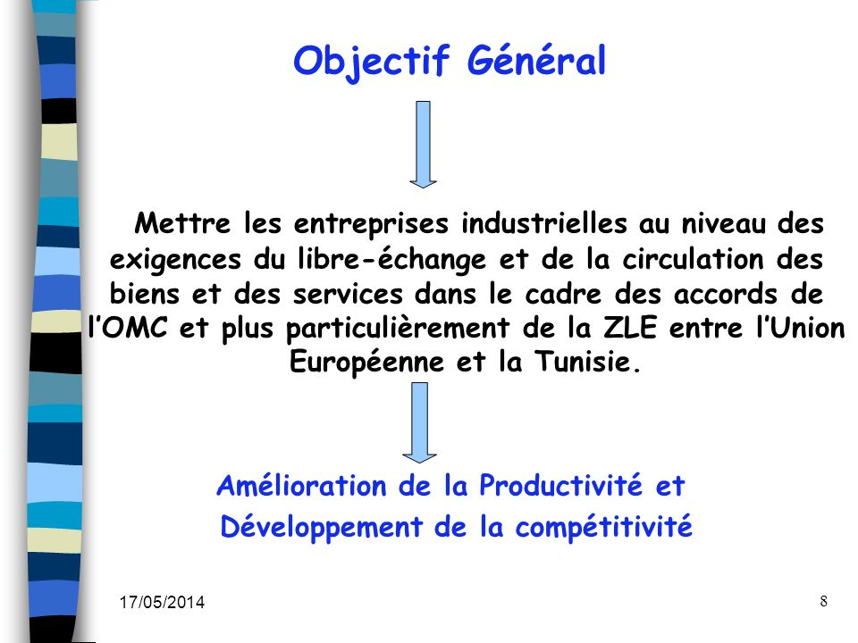 Amélioration de la Productivité et Développement de la compétitivité