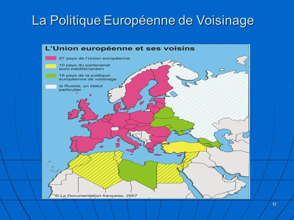 La Politique Européenne de Voisinage