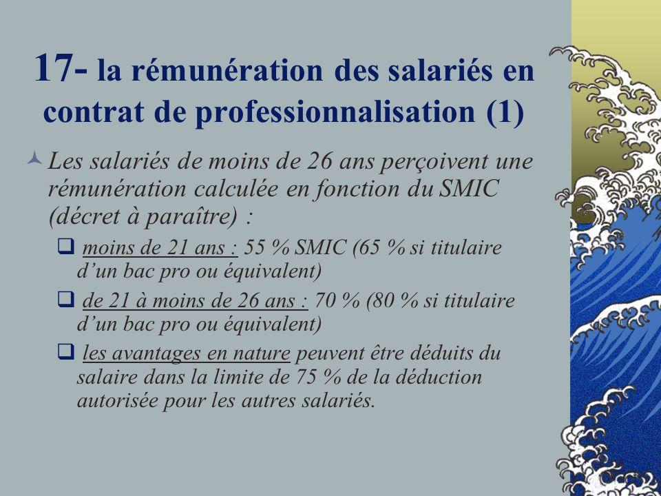 17- la rémunération des salariés en contrat de professionnalisation (1)