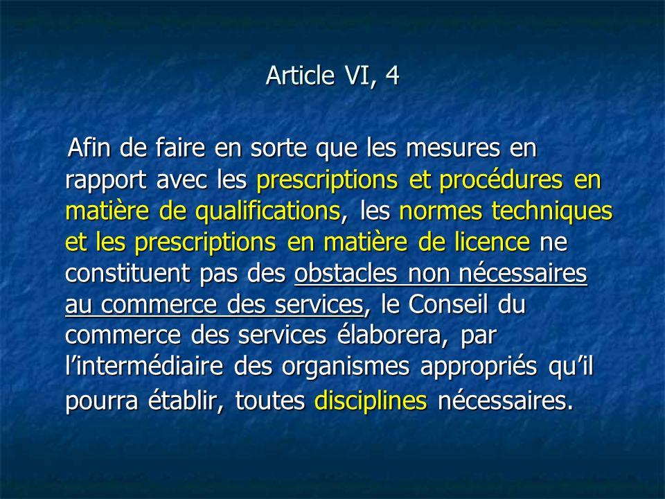 Article VI, 4