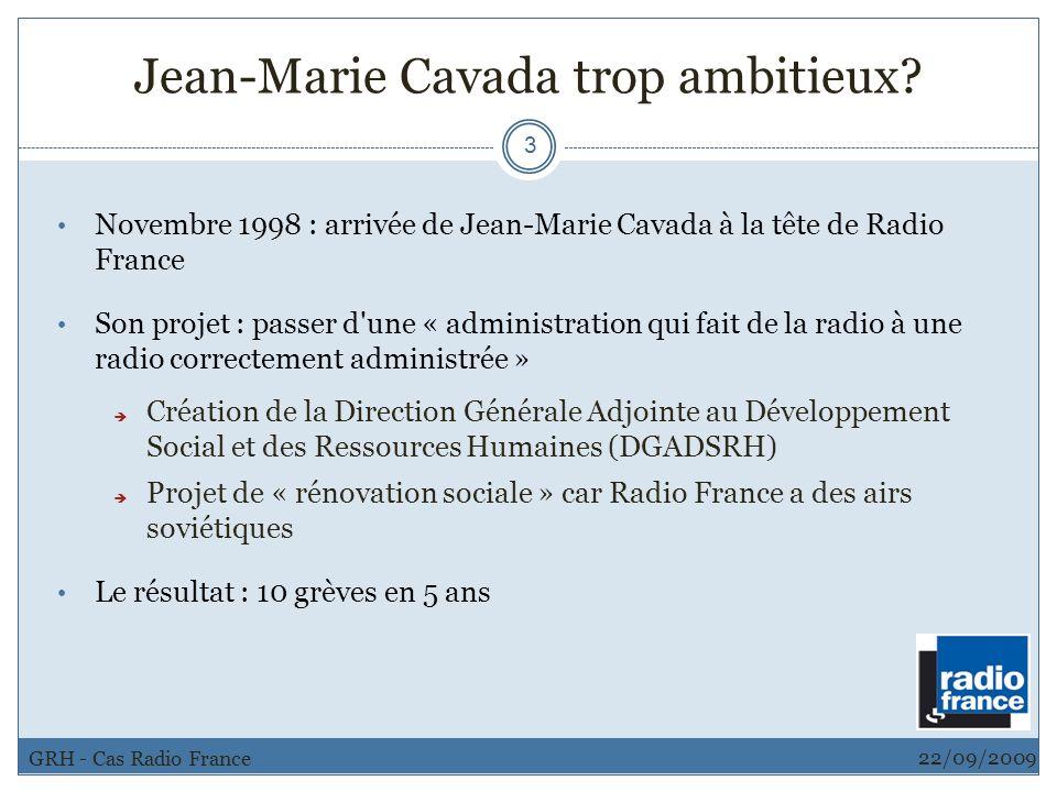Jean-Marie Cavada trop ambitieux